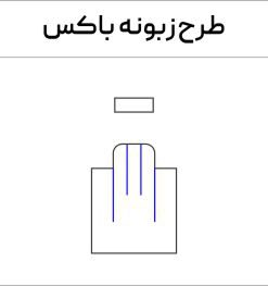طرح زبونه باکس درب دار سایت ایران لیزرکات